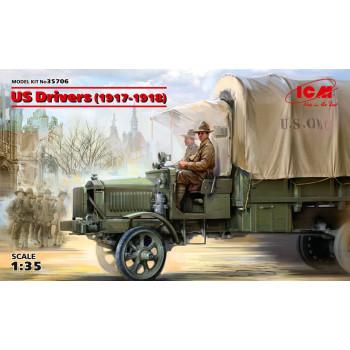 Фигуры, Водители США (1917-1918 г.) сборная модель