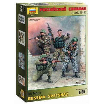 Российский спецназ №1 сборная модель