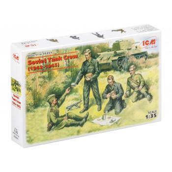 35351 ICM Фигуры Советский танковый экипаж (1943-1945), 1/35