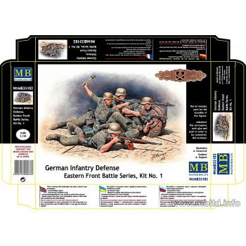 Фигуры Германская пехота, Восточный фронт