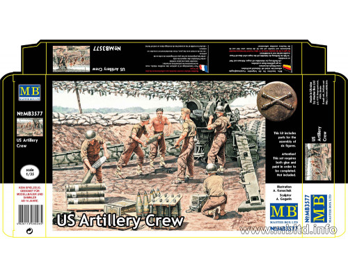 Фигуры Артиллерийский расчет, США