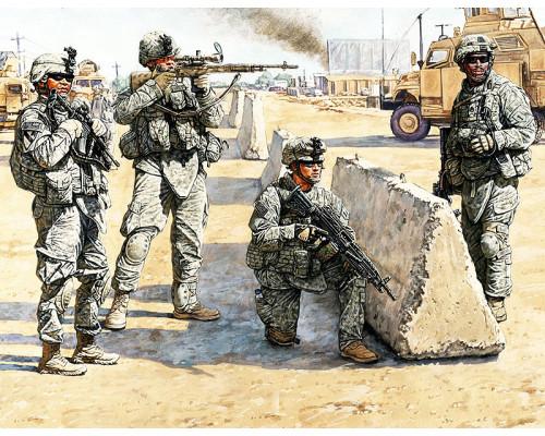 Фигуры Американский контрольный пункт в Ираке