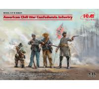 Фигуры, Пехота Конфедерации (Гражданская война в США)