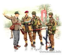 Фигуры Английские парашутисты 44г.Набор 1