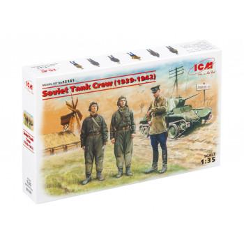 35181 ICM Фигуры Советский танковый экипаж (1939-1942), 1/35