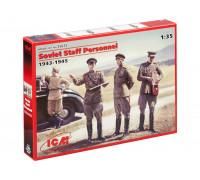 35612 ICM Фигурки Советские генералы (2МВ), 1/35