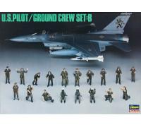 H36005 Hasegawa Пилоты ВВС США Pilot/Grounder R (1:48)
