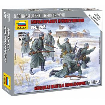 zv6198 Немецкая пехота 1939-1942гг (зима)