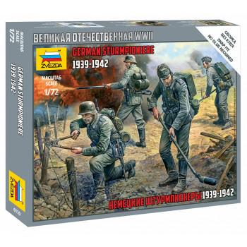 zv6110 Немецкие штурмпионеры