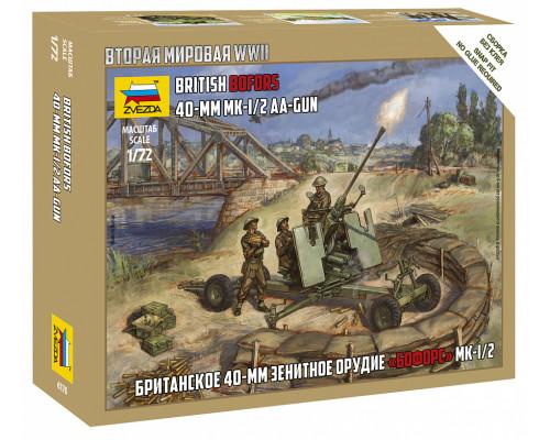 """Британкское 40-мм зенитное орудие """"Бофорс"""""""