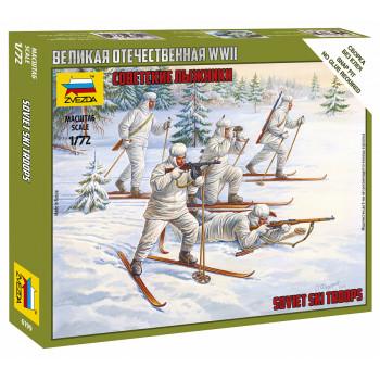 zv6199 Советские лыжники
