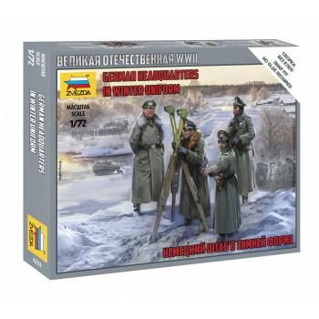 zv6232 Немецкия штаб в зимней форме