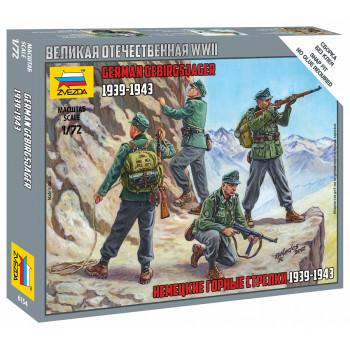 zv6154 Немецкие горные стрелки