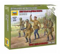 Советская кадровая пехота 1941-1942 гг