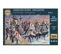 Рыцари Ливонского ордена XII-XIV века