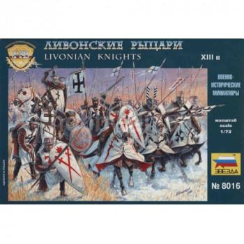 zv8016 Рыцари Ливонского ордена XII-XIV века