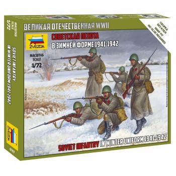 zv6197 Советская пехота 1941-43гг. (зима)