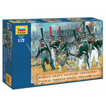 zv8020 Русские гренадеры 1812 гг.