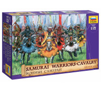 Конные самураи XVI-XVII вв