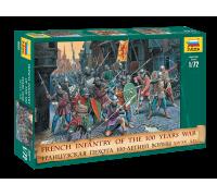 Французская пехота. 100-летняя война.