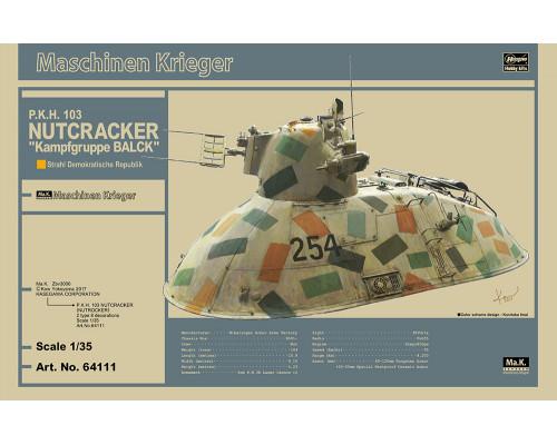 "H64111 Hasegawa Боевой робот P.K.H. 103 Nutcracker ""Kampfgruppe BALCK"" (1:35)"