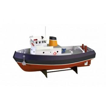 Собранная деревянная модель корабля Artesania Latina Tugboat Samson (Build & Navigate series) 1:15 сборная модель