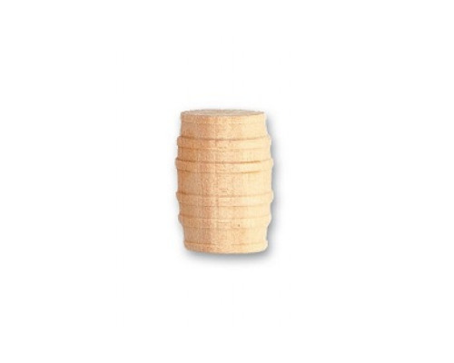 Деревянная бочка (самшит) Artesania Latina 15мм 3шт