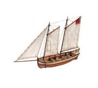 Сборная деревянная модель шлюпки корабля Artesania Latina Endeavour 1:50