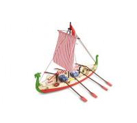 Собранная деревянная модель корабля Artesania Latina DRAKKAR (VIKING BOAT) BUILT