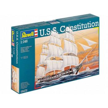 Корабль парусный U.S.S. Constitution