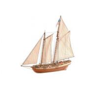 Сборная деревянная модель корабля Artesania Latina Virginia American Schooner 1:41