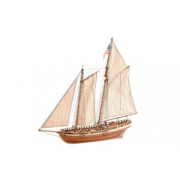 Сборная деревянная модель корабля Artesania Latina Virginia American Schooner 1:41 сборная модель