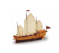 Сборная деревянная модель корабля Artesania Latina Red Dragon Classic Collection 1:60