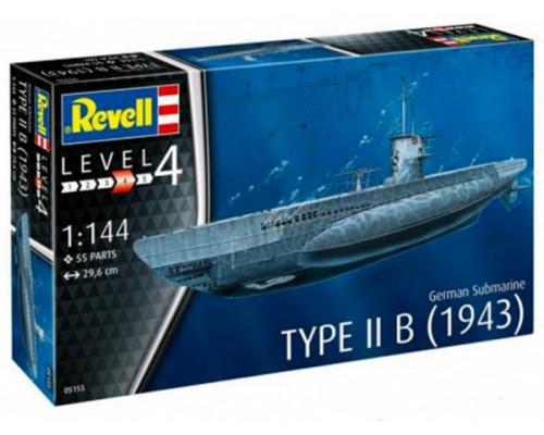 Набор Немецкая подводная лодка типа IIB (1943)