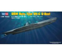 83505 Немецкая ДПЛ U-boat Type VII C (1:350, Hobby Boss)
