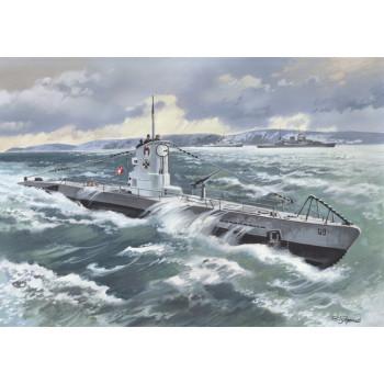 U-Boat Type IIB (1939) - Германская подводная лодка сборная модель