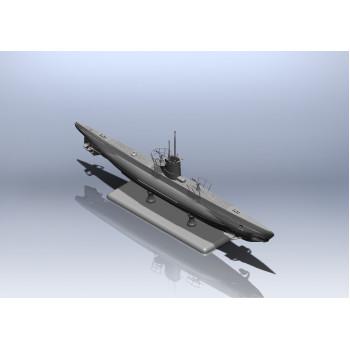 Тип IIB (1943 г.) Германская подводная лодка сборная модель