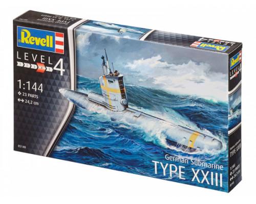 Немецкая Подводная лодка типа XXIII
