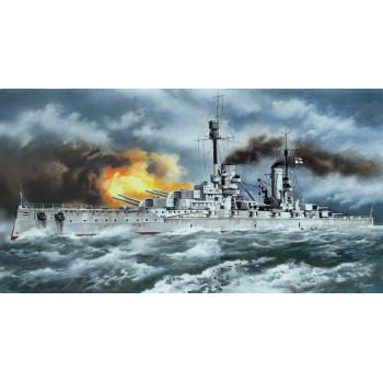 """""""Кронпринц Вильгельм"""", германский линейный корабль І Мировой войны сборная модель"""