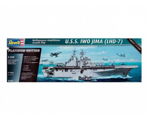 Десантный корабль U.S.S. Iwo Jima (LHD-7), американский