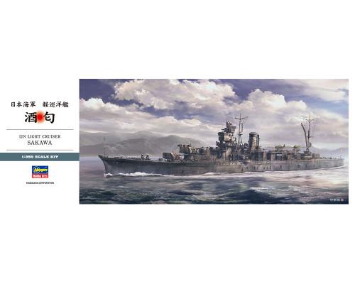 H40098 Hasegawa Японский крейсер IJN Sakawa (1:350)