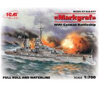 """""""Маркграф"""", Германский линейный корабль І МВ"""