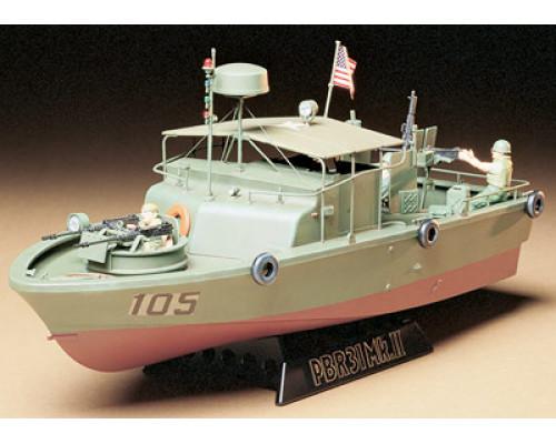 Американский водометный патрульный катер PBR31MkII PIBBER с 4 фигурами и подставкой