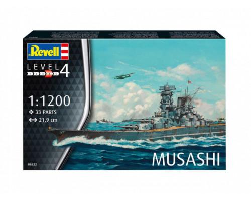 Линейный корабль Musashi