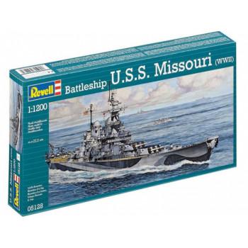 Корабль военный U.S.S. Missouri 2-я МВ