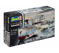 Корвет типа «Флауэр» HMCS Snowberry времен Второй мирвоой войны