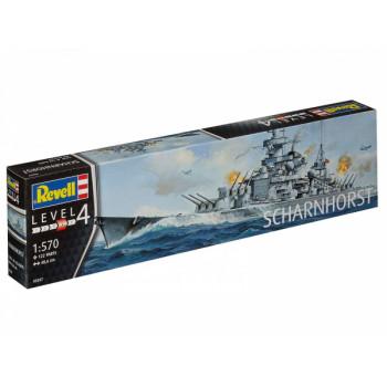 Линкор типа «Шарнхорст» ВМС Германии времен Второй мировой войны