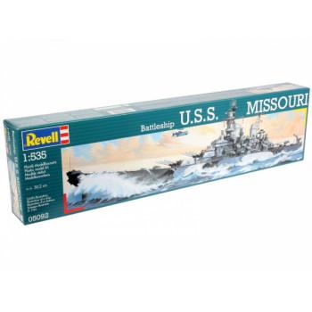 Военный корабль USS Missouri (1/535)