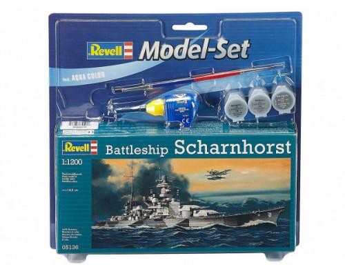 """Линейный крейсер """"Шарнхорст"""" ВМС Германии времен Второй мировой войны"""