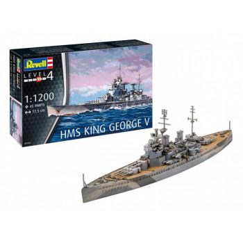 Линкор HMS King George V